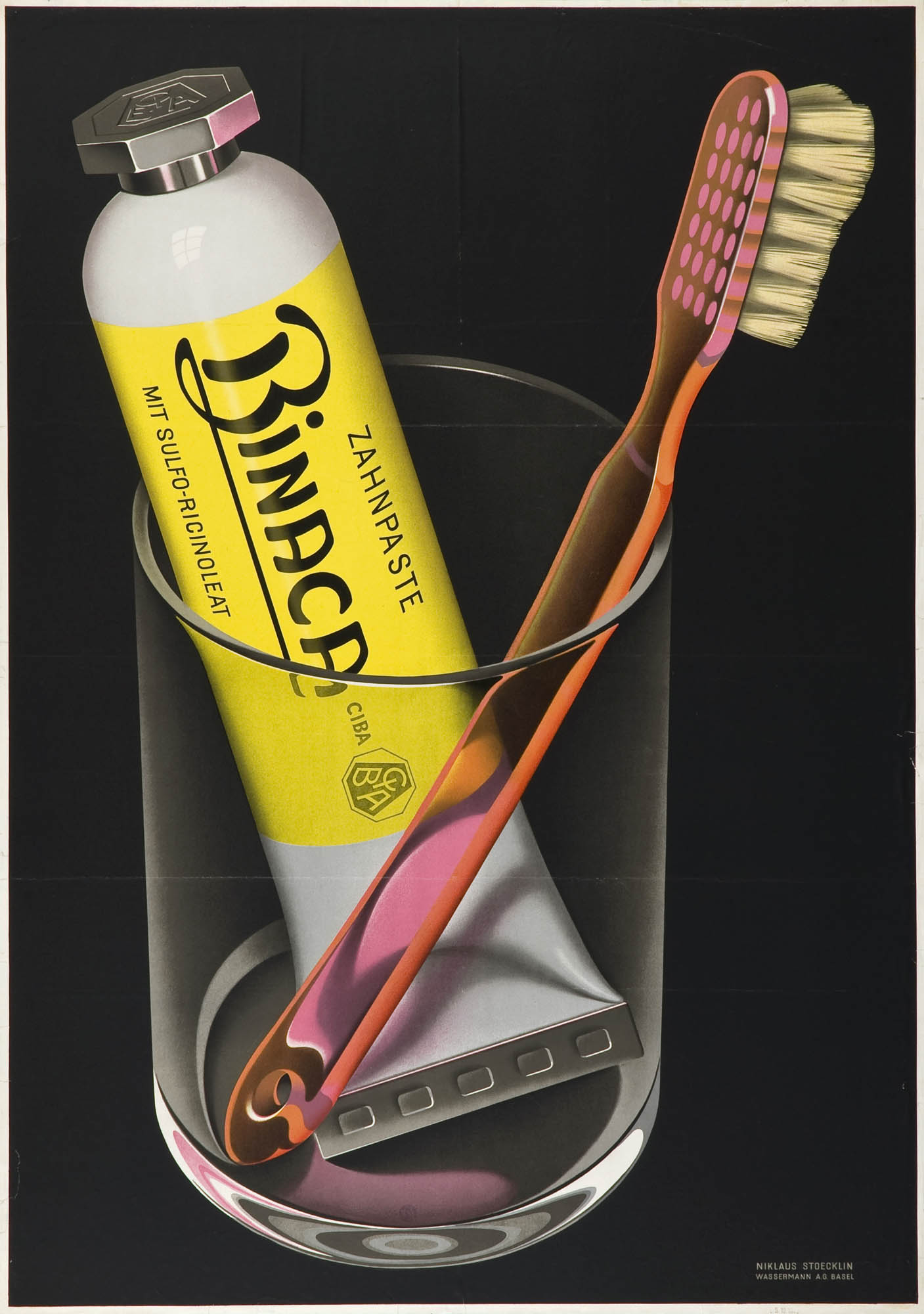 Sonnenschutz Bi Oro Niklaus Stoecklin Poster