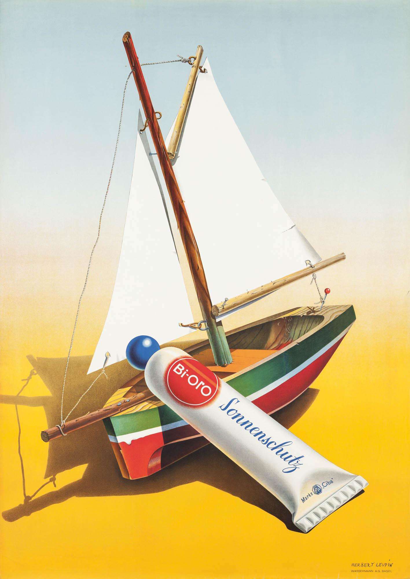 Sonnenschutz Bi Oro Niklaus Stoecklin Plakat
