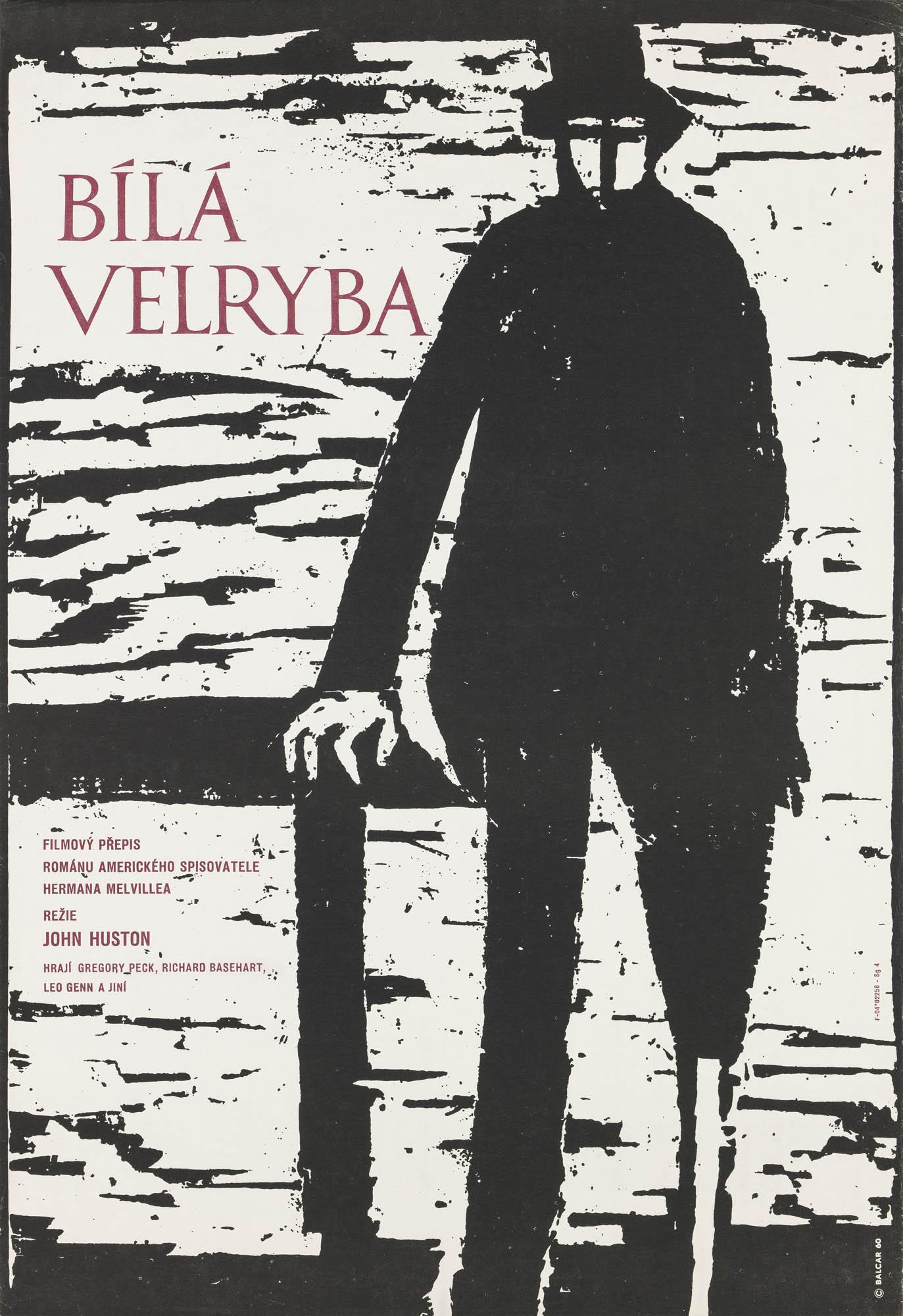 Moby Dick Antonio Reboiro Plakat