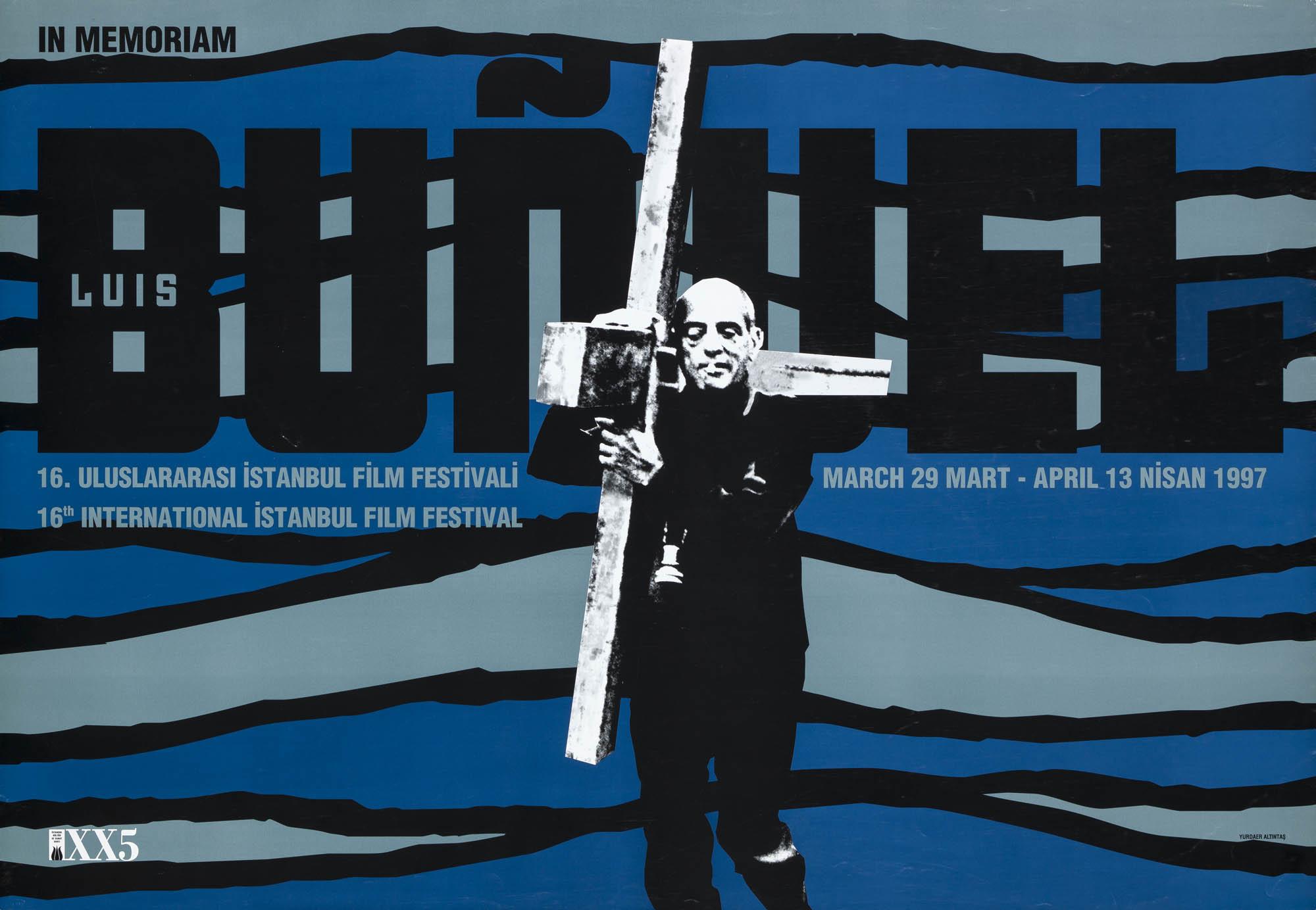 Luis Buñuel – Filmpodium Zürich Paul Brühwiler Poster