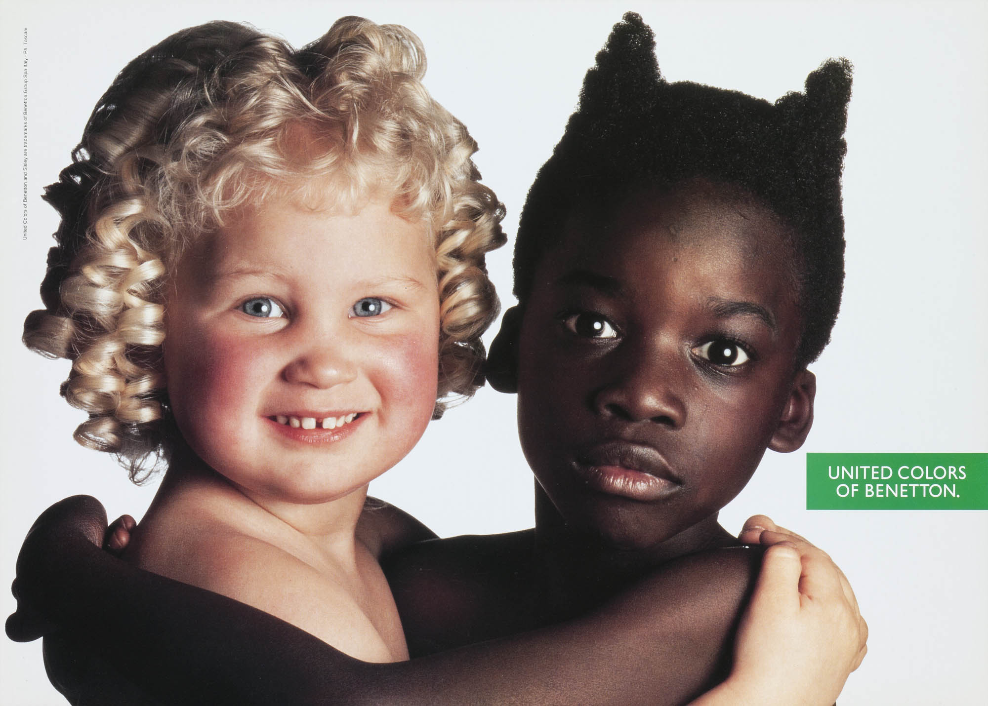 United Colors of Benetton. Oliviero Toscani Plakat