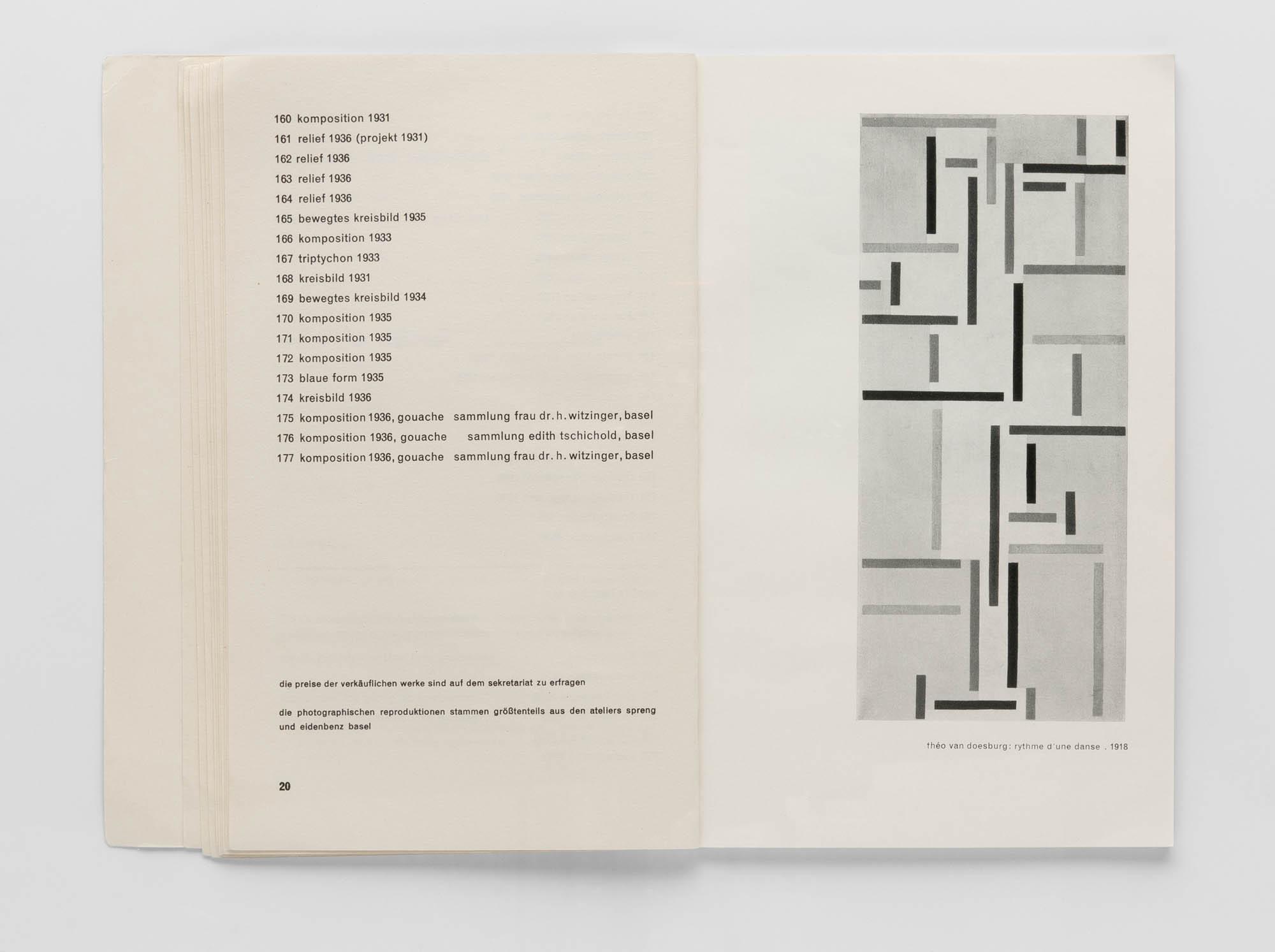 Kunsthalle Basel – Konstruktivisten Jan Tschichold Poster
