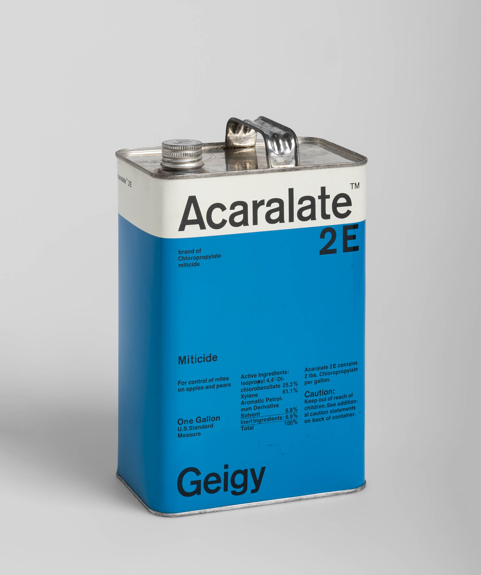 Acaralate 25E Geigy – Miticide Markus Löw Label