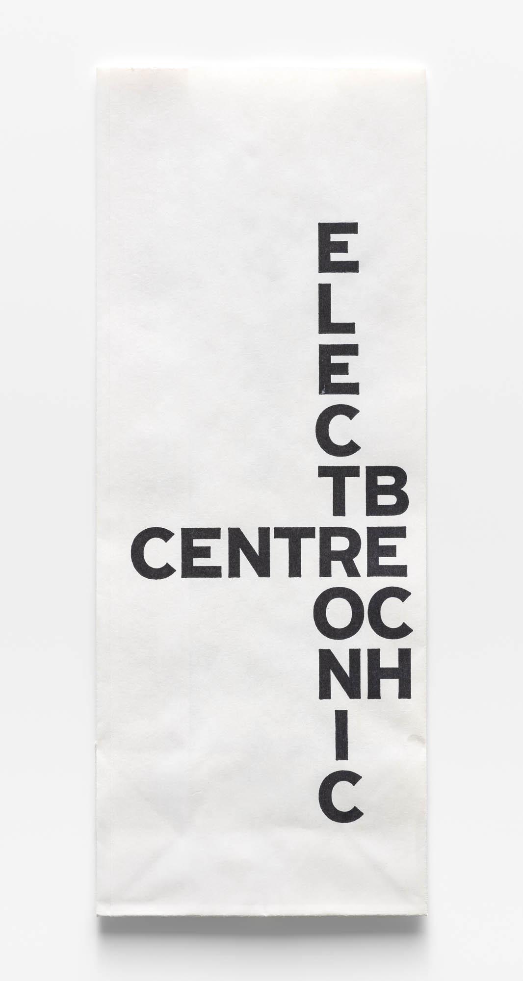 Bech Electronic Centre Karl Gerstner Werbeinserat