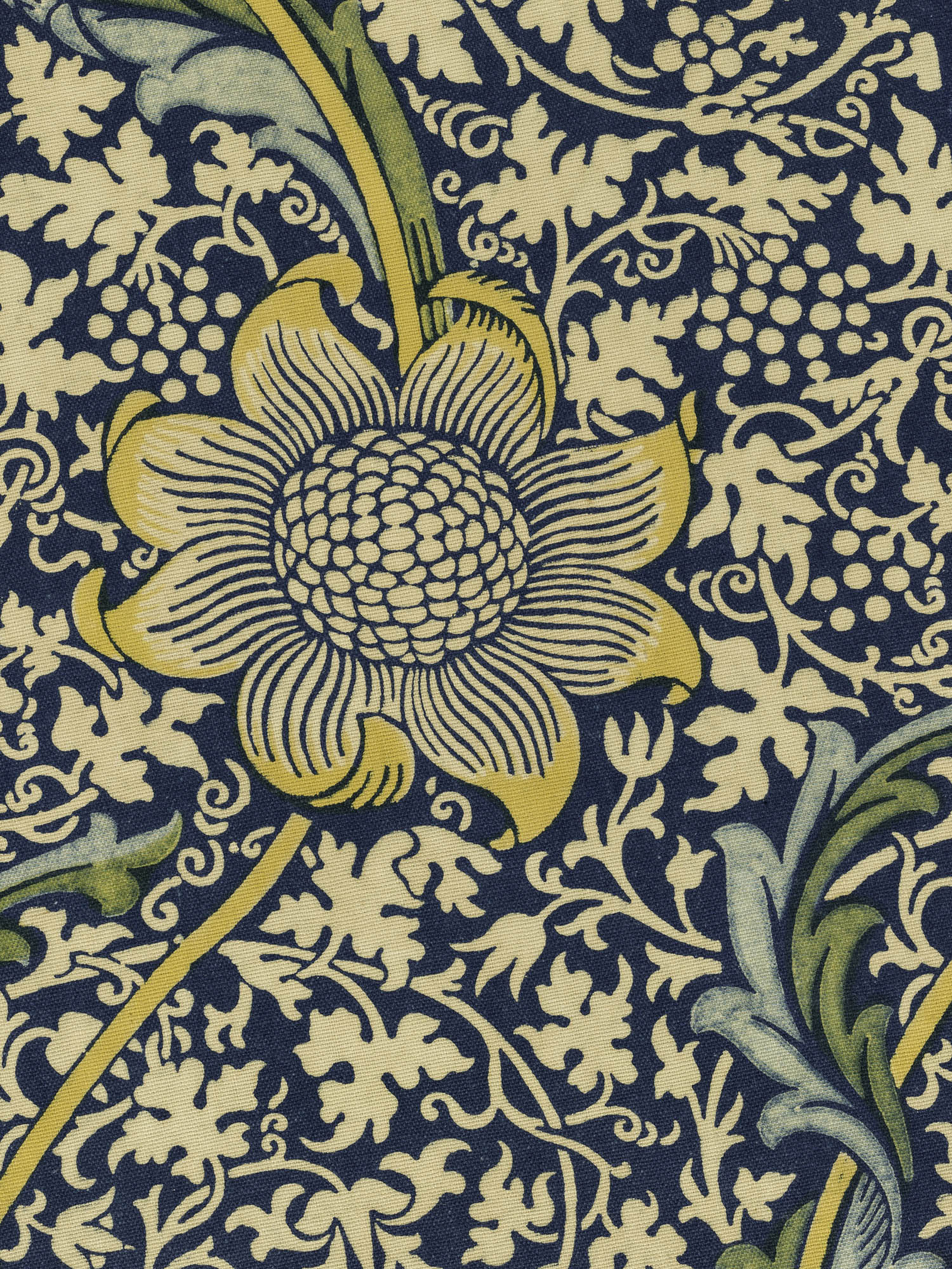Honeysuckle William Morris Furnishing fabric