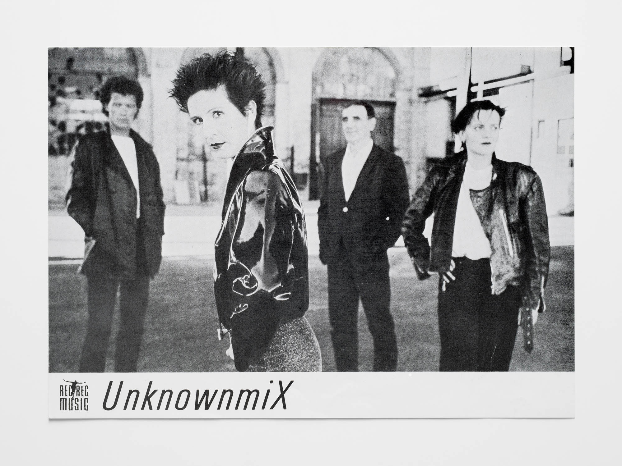 Unknownmix – UX Hans-Rudolf Lutz Record sleeve (front and back)