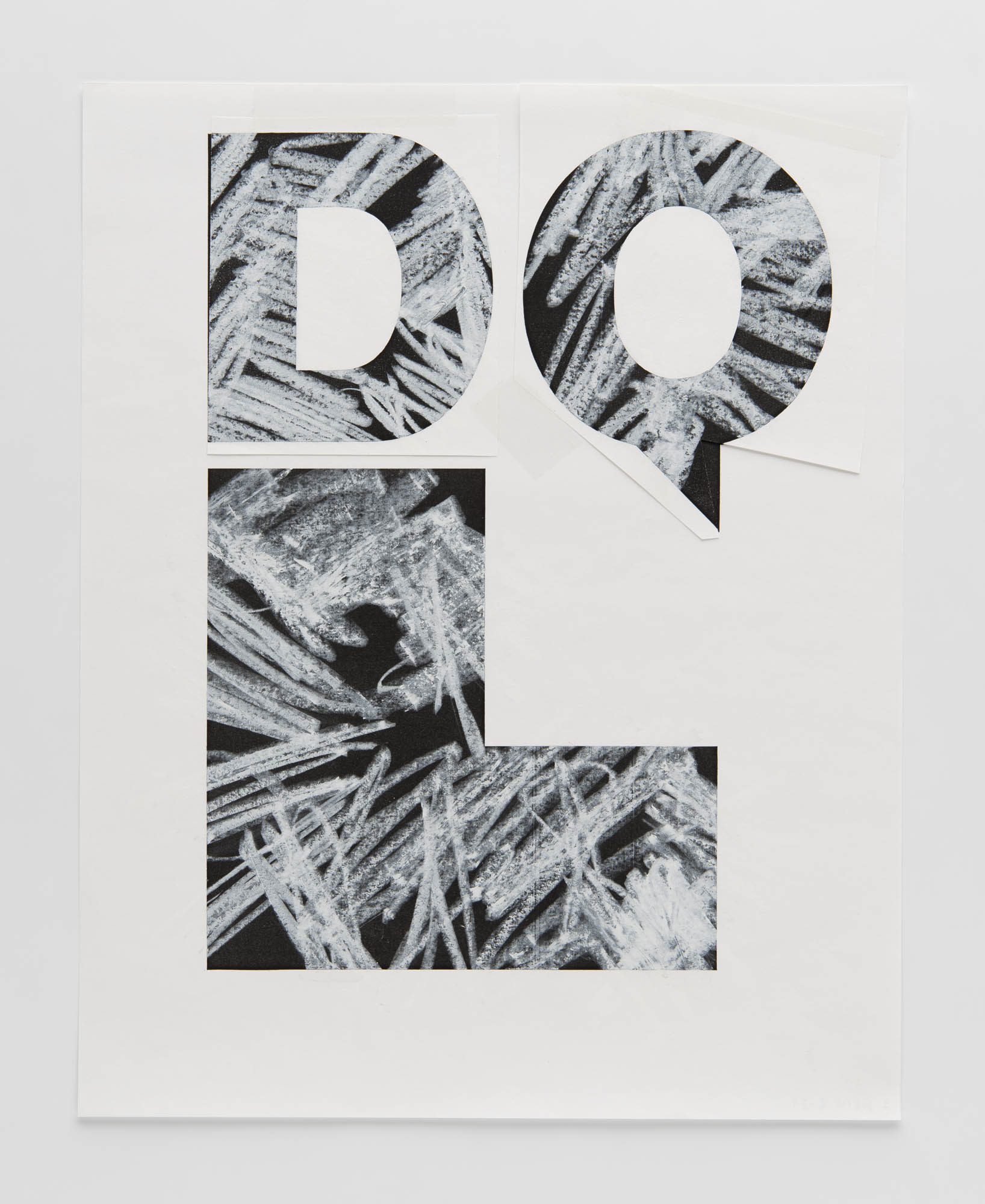 DQL – Design Quarterly: Fifty Years Wolfgang Weingart Projet final pour couverture de revue