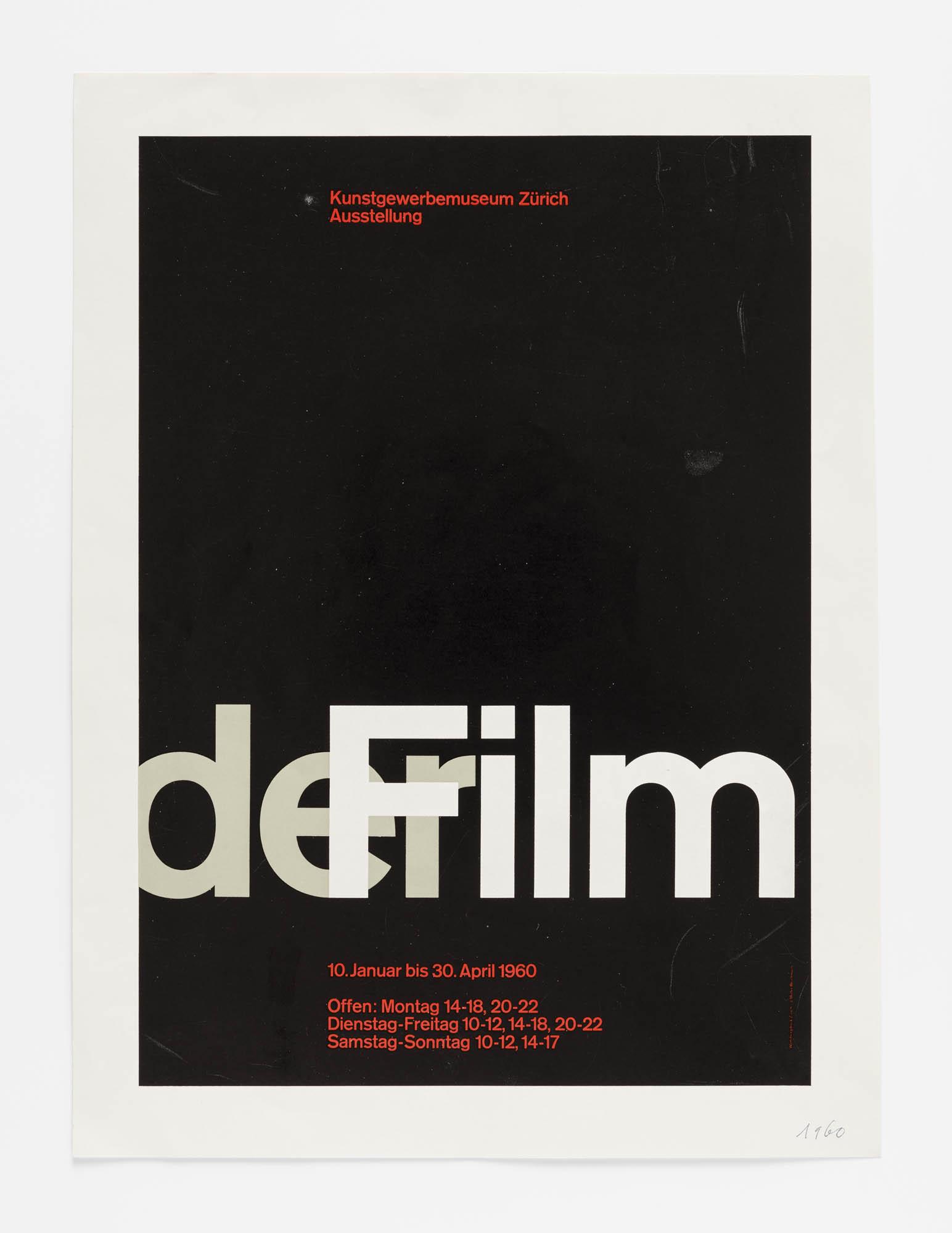 Der Film Josef Müller-Brockmann Plakatentwurf-Skizzen