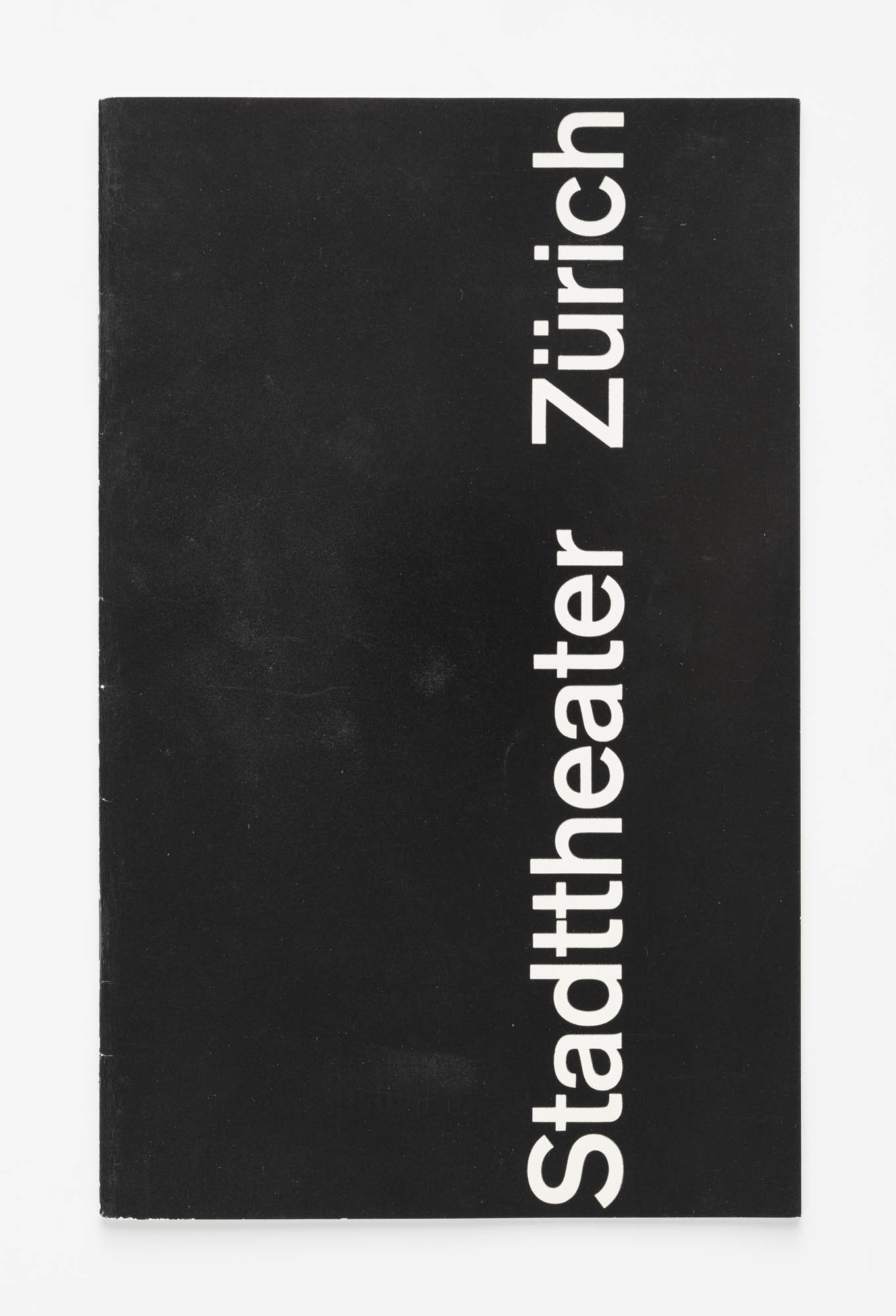 Juni-Festwochen Zürich Josef Müller-Brockmann Programmvorschau