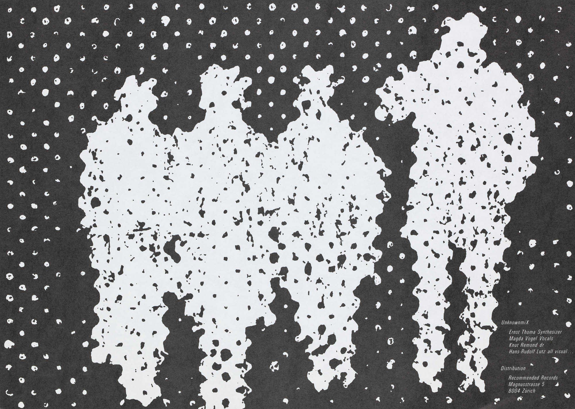 1 – Menschen Hans-Rudolf Lutz Livre d'artiste