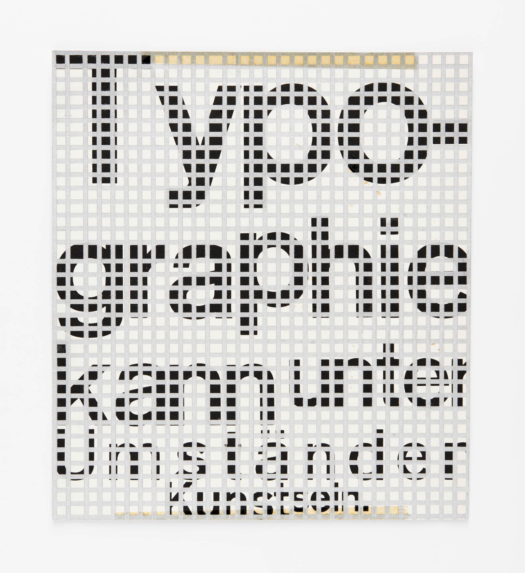 Typografische Monatsblätter 11, 1973 – Typographie kann unter Umständen Kunst sein – Kurt Schwitters: 1924 Wolfgang Weingart
