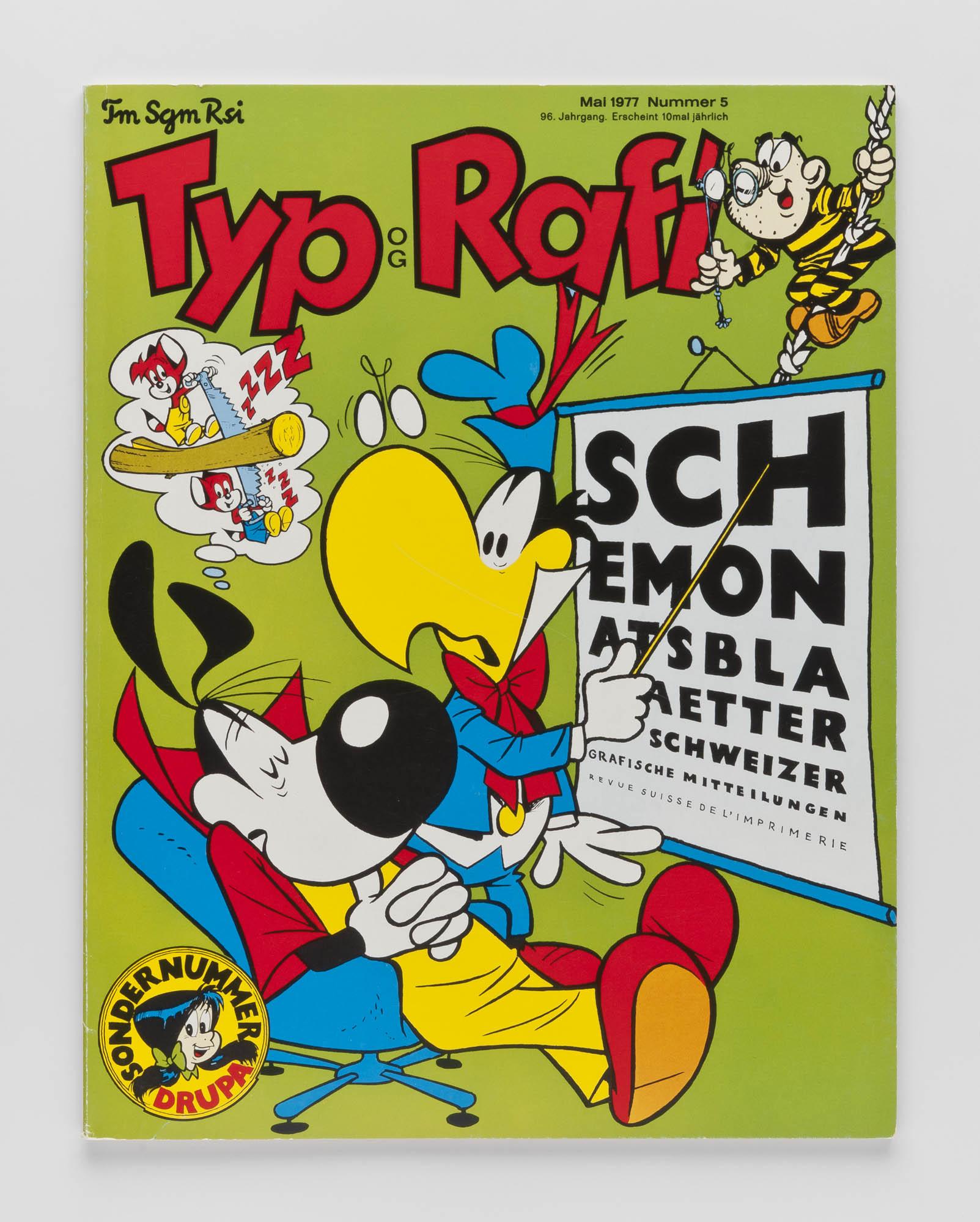 Typographische Monatsblätter 12 Hans-Rudolf Lutz