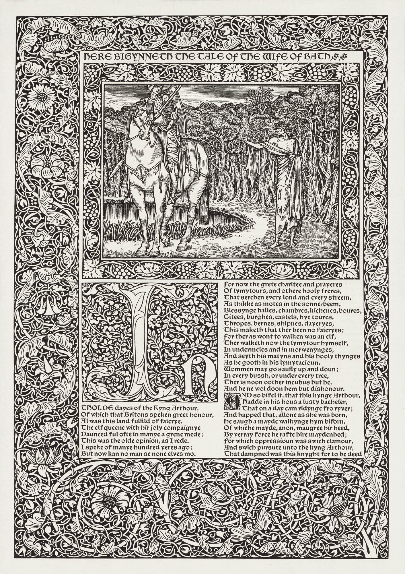 The Works of Geoffrey Chaucer William Morris