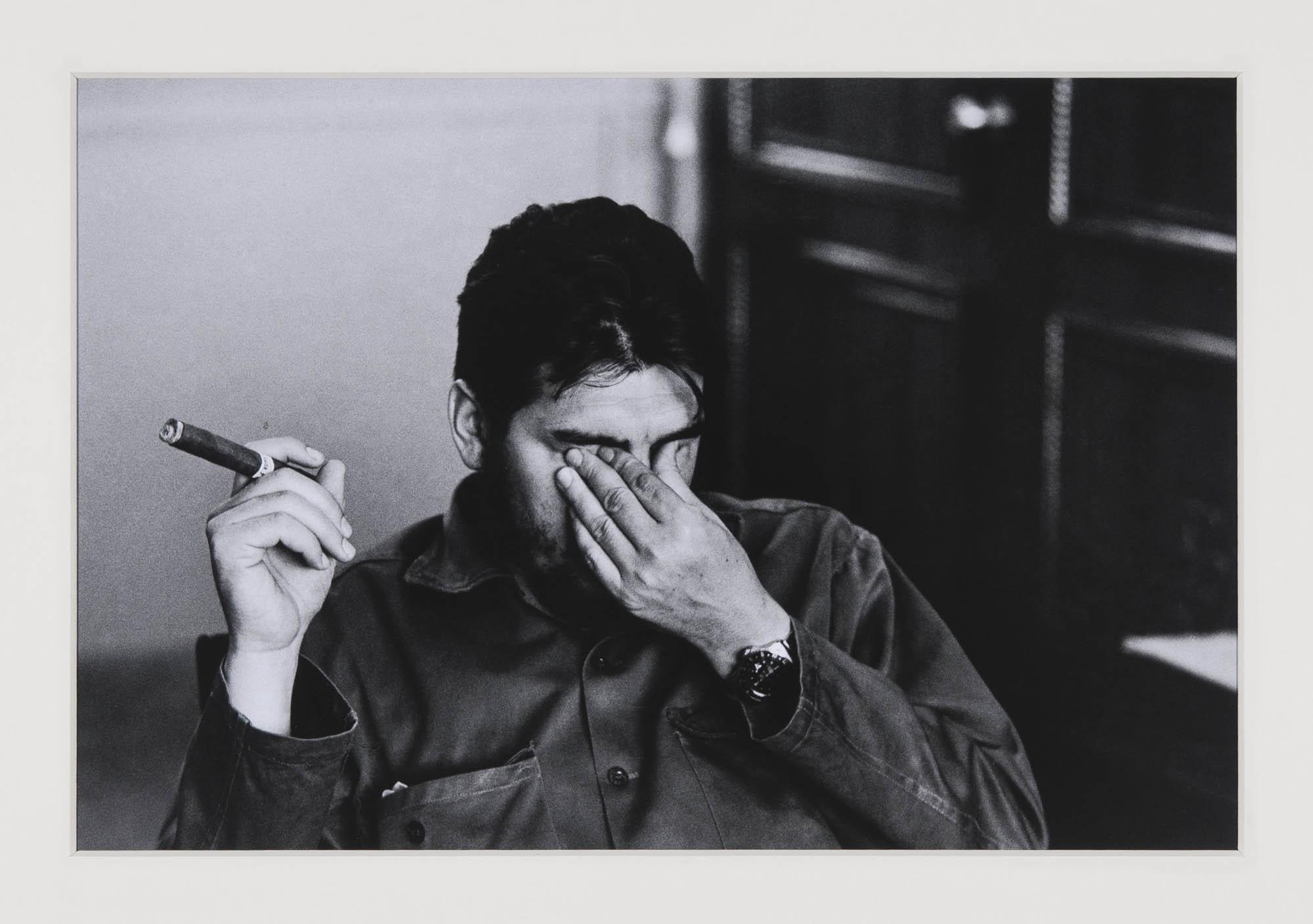 Ernesto «Che» Guevara, Industrieministerium Havanna René Burri Photograph