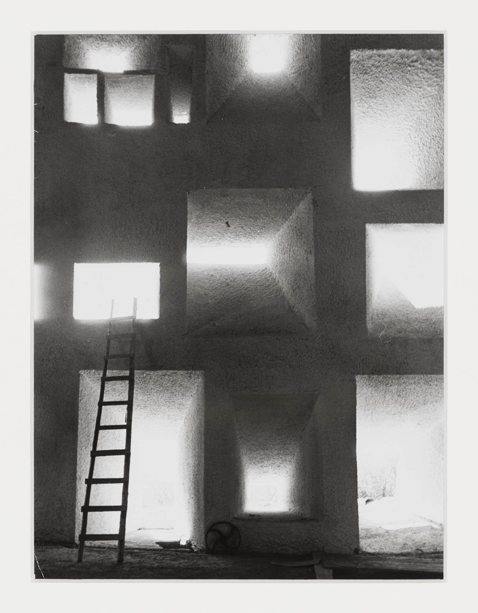 Le Corbusier in seinem Studio, 35 rue de Sèvres, Paris René Burri Fotografie