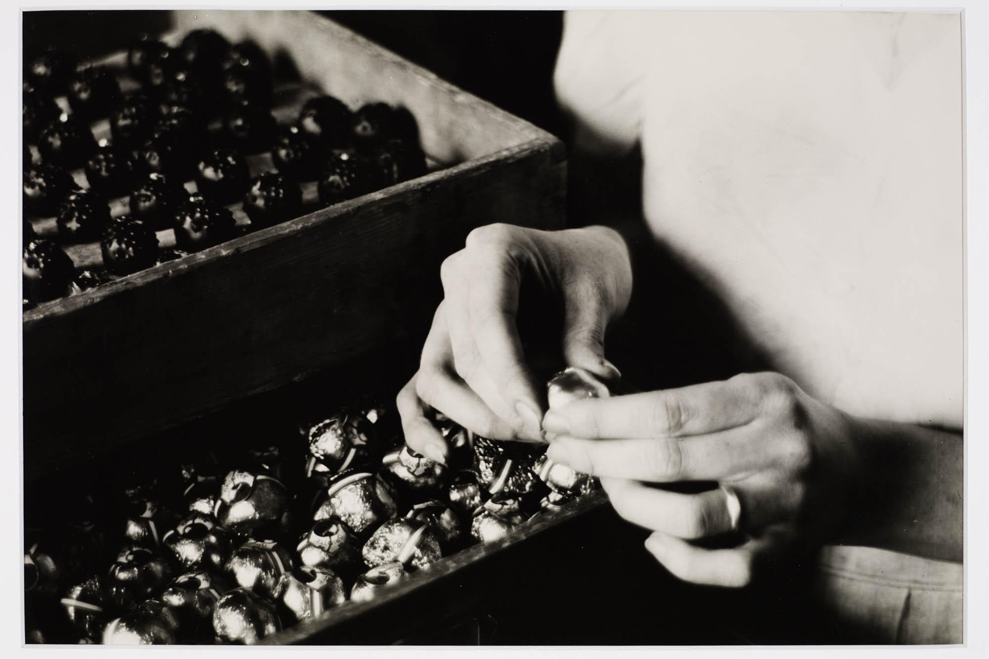 Schokoladen-Mischmaschine Hans Finsler