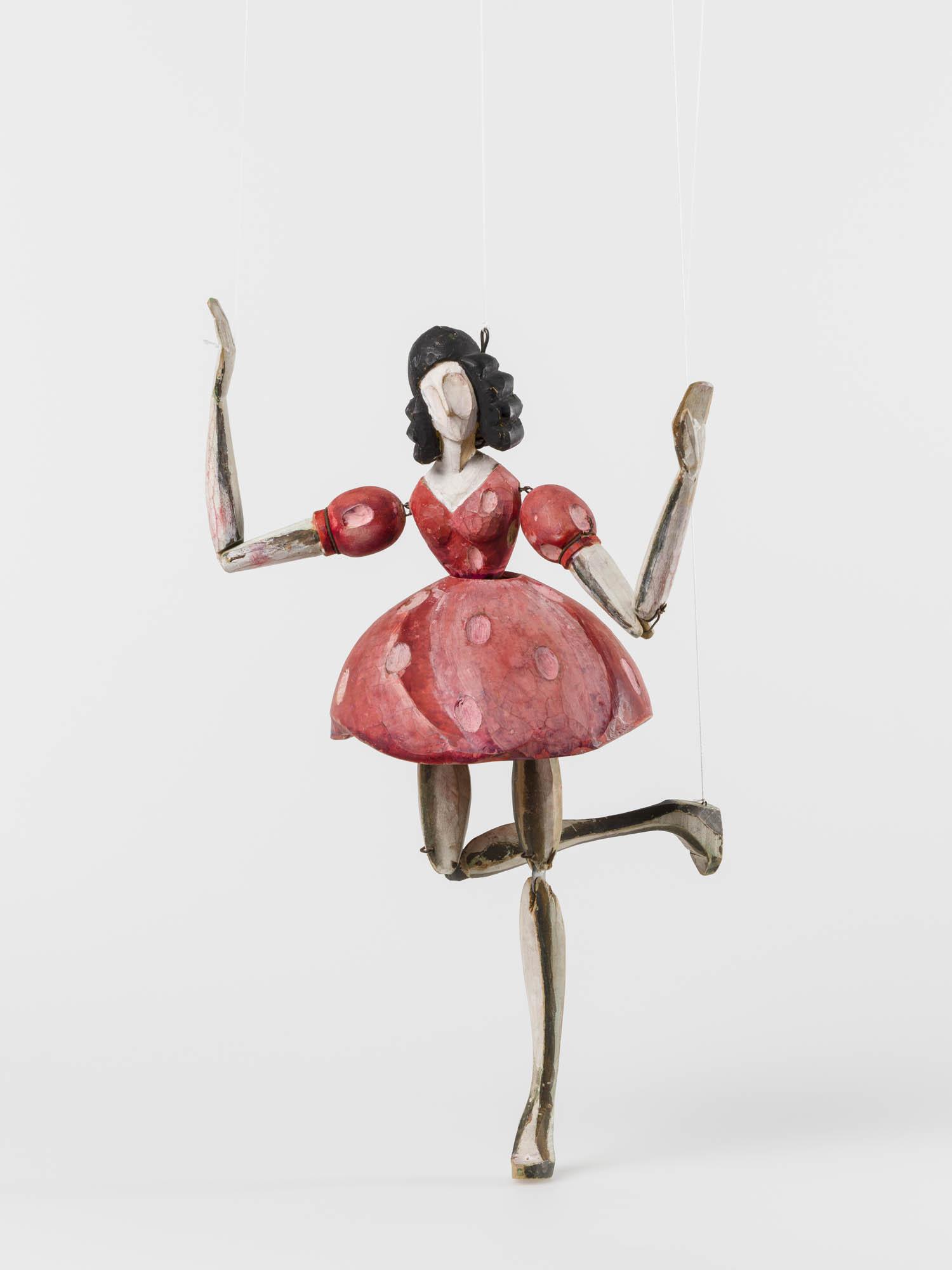 La boîte à joujoux: Tambour Otto Morach Marionette