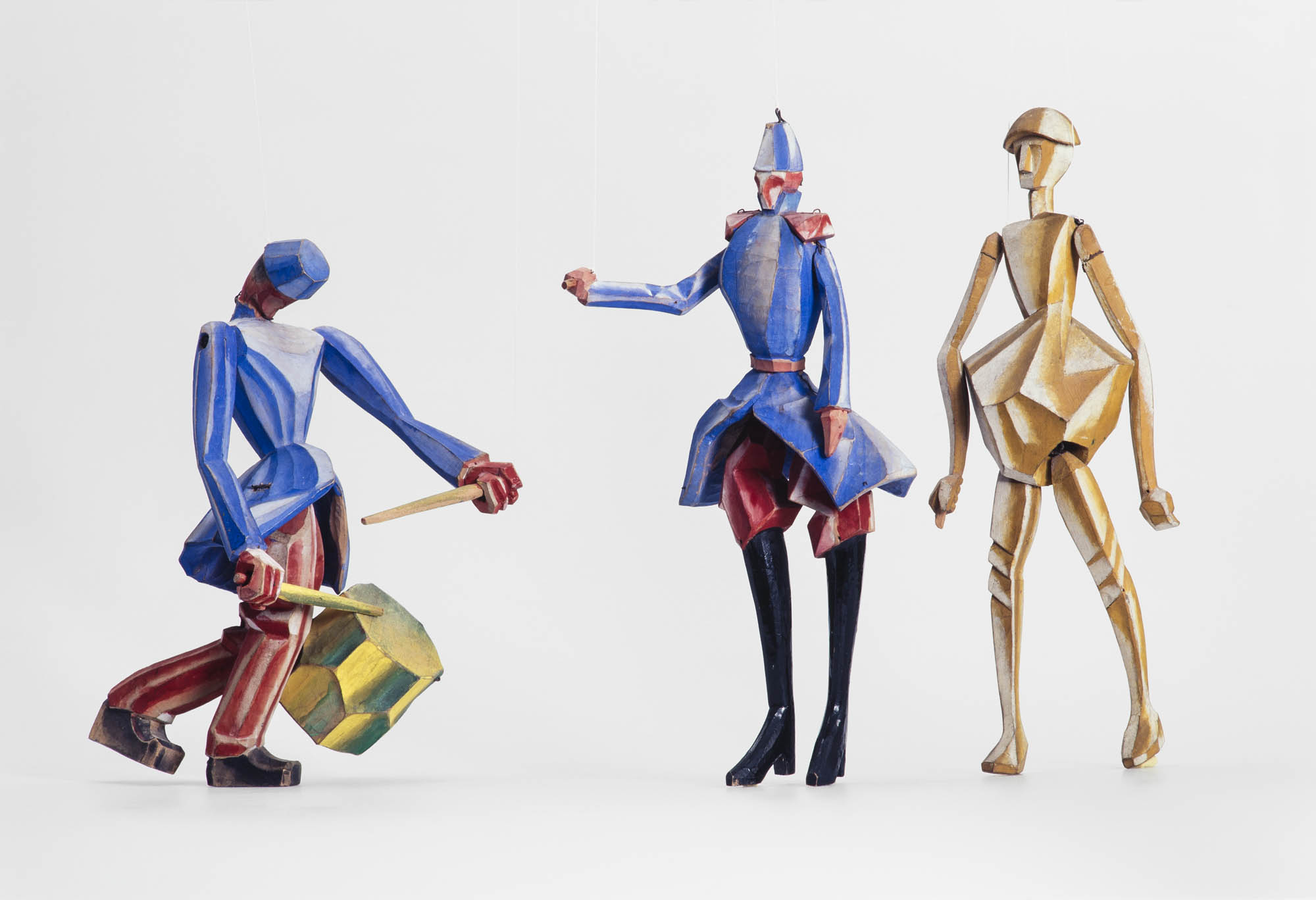 La boîte à joujoux: Tambour Otto Morach Marionnette