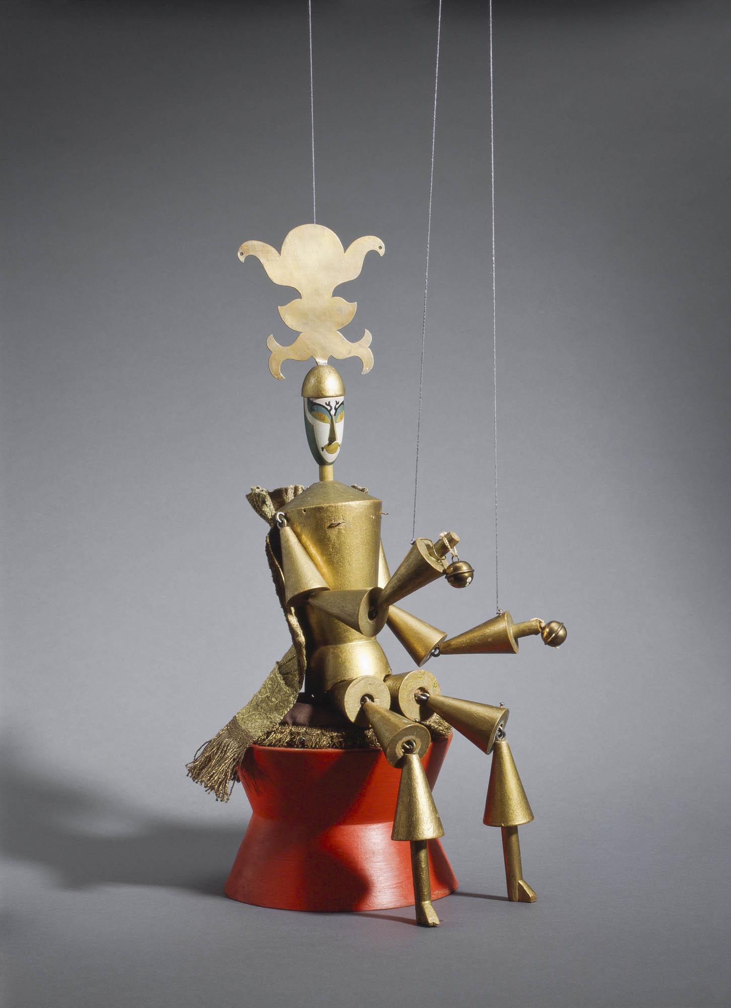 König Hirsch: Wache Sophie Taeuber-Arp Marionette