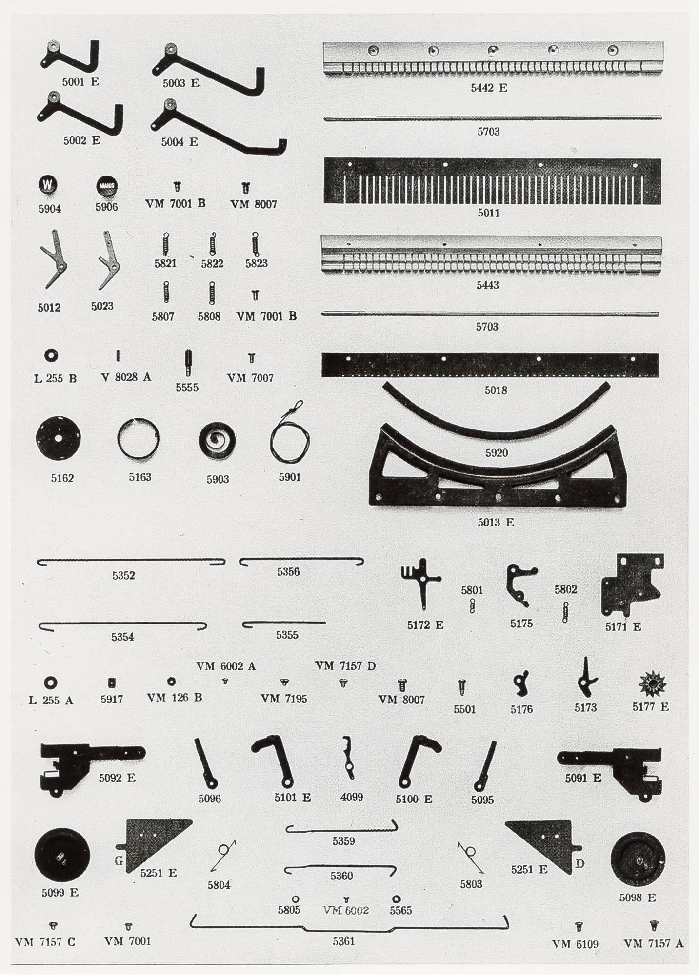 Hermes Baby Giuseppe Prezioso Schreibmaschine