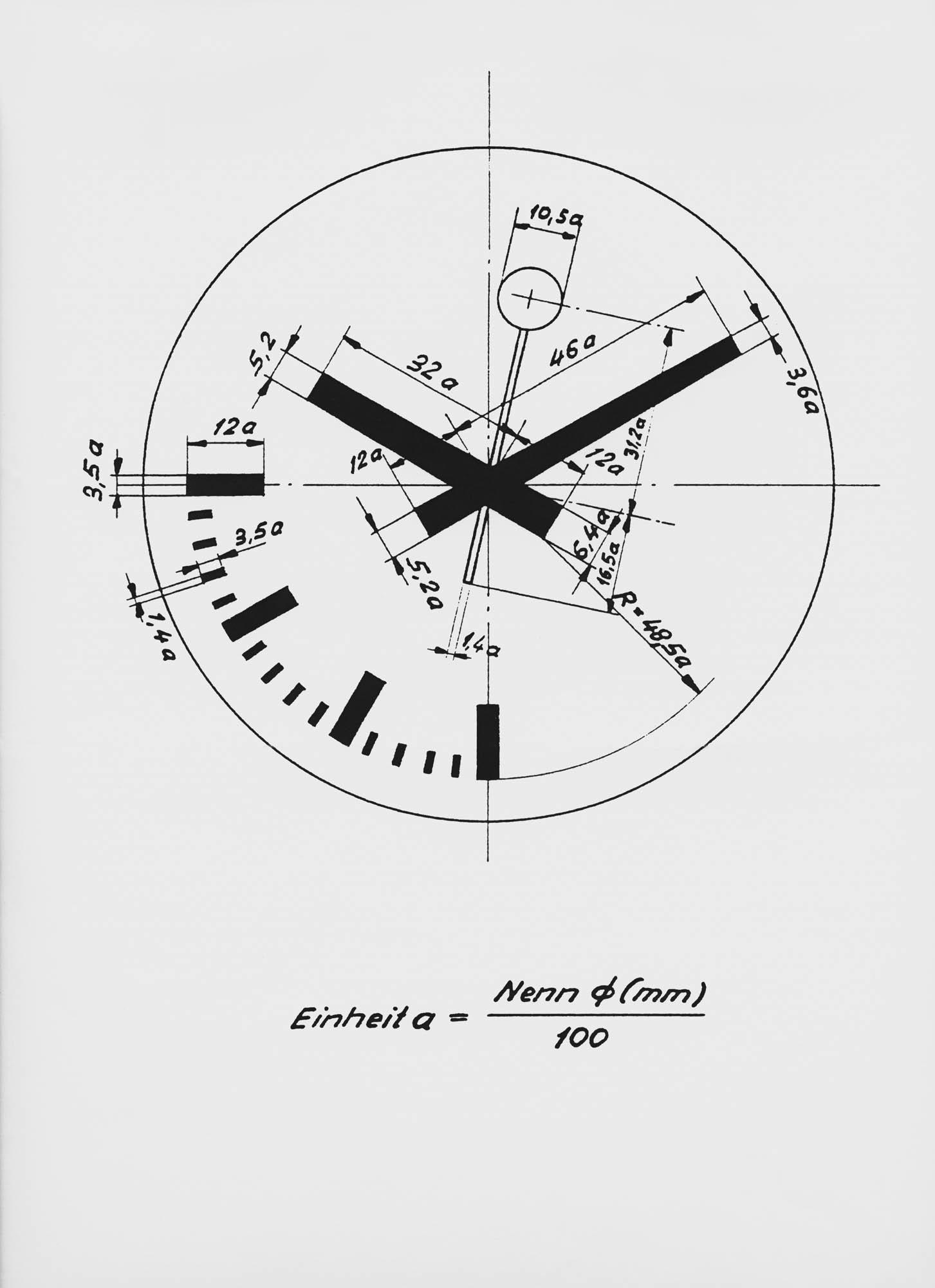SBB Bahnhofsuhr Hans Hilfiker Clock