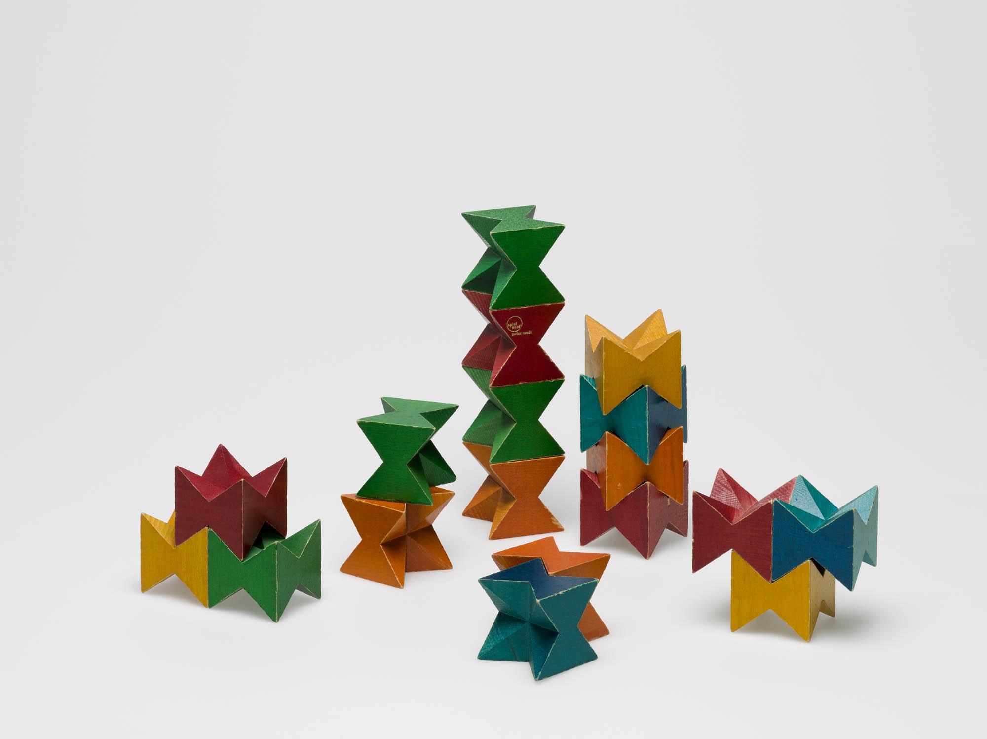 Naef Spiel Kurt Naef Building blocks