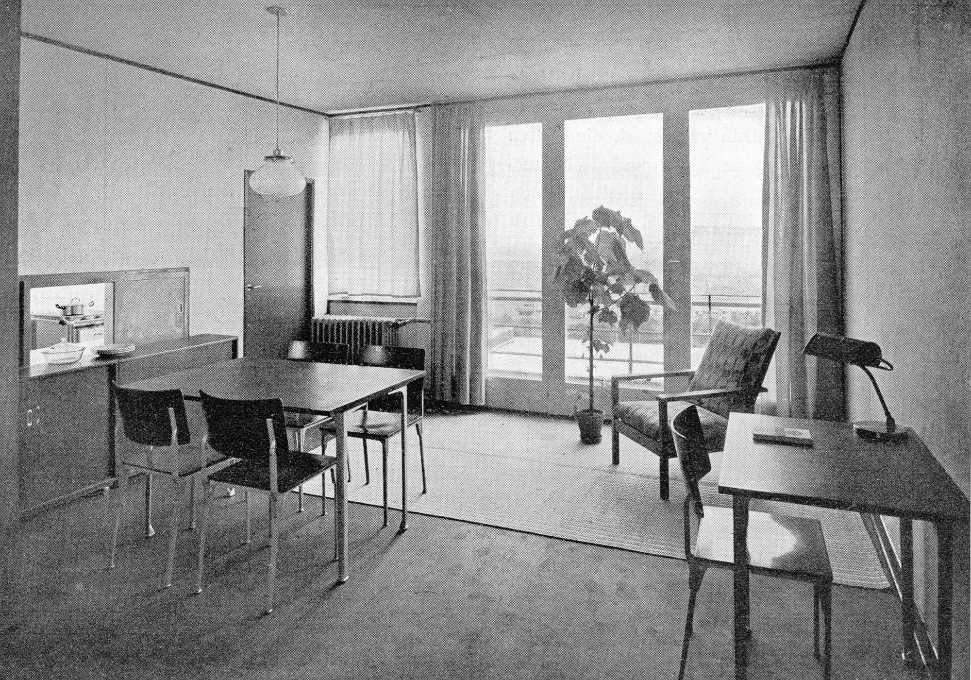 Elektron Max Ernst Haefeli Hocker