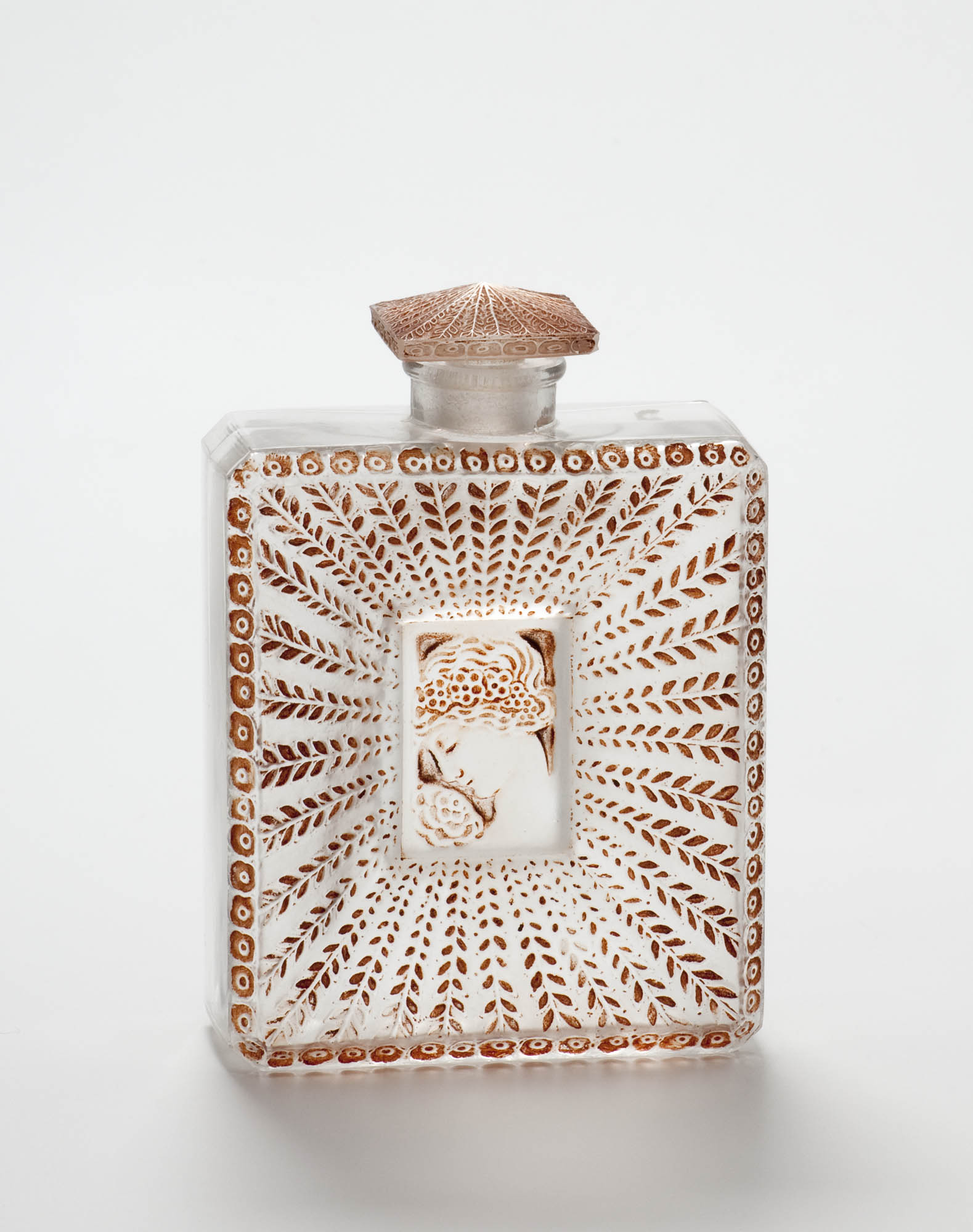 Modell Nr. 502: Serpent René Lalique Perfume bottle