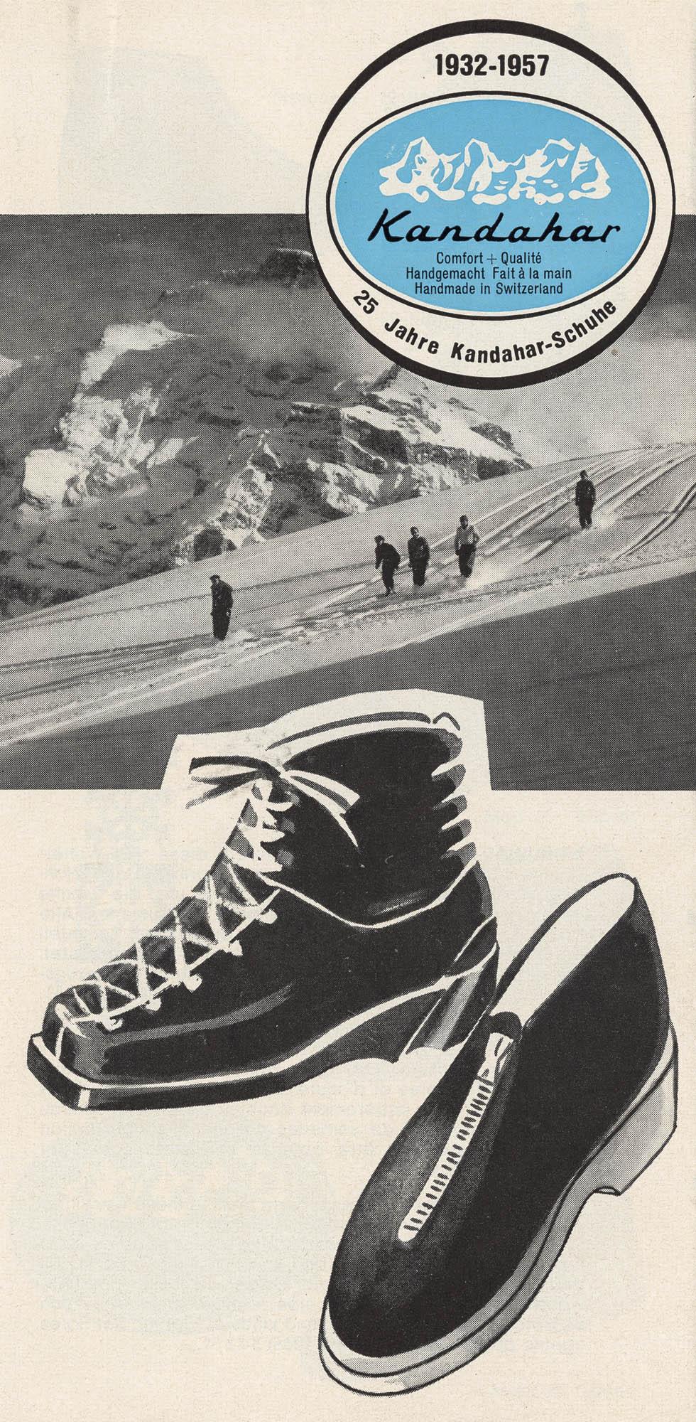 Alpina – Après Skischuh Kandahar Schuhmanufaktur AG Bottes