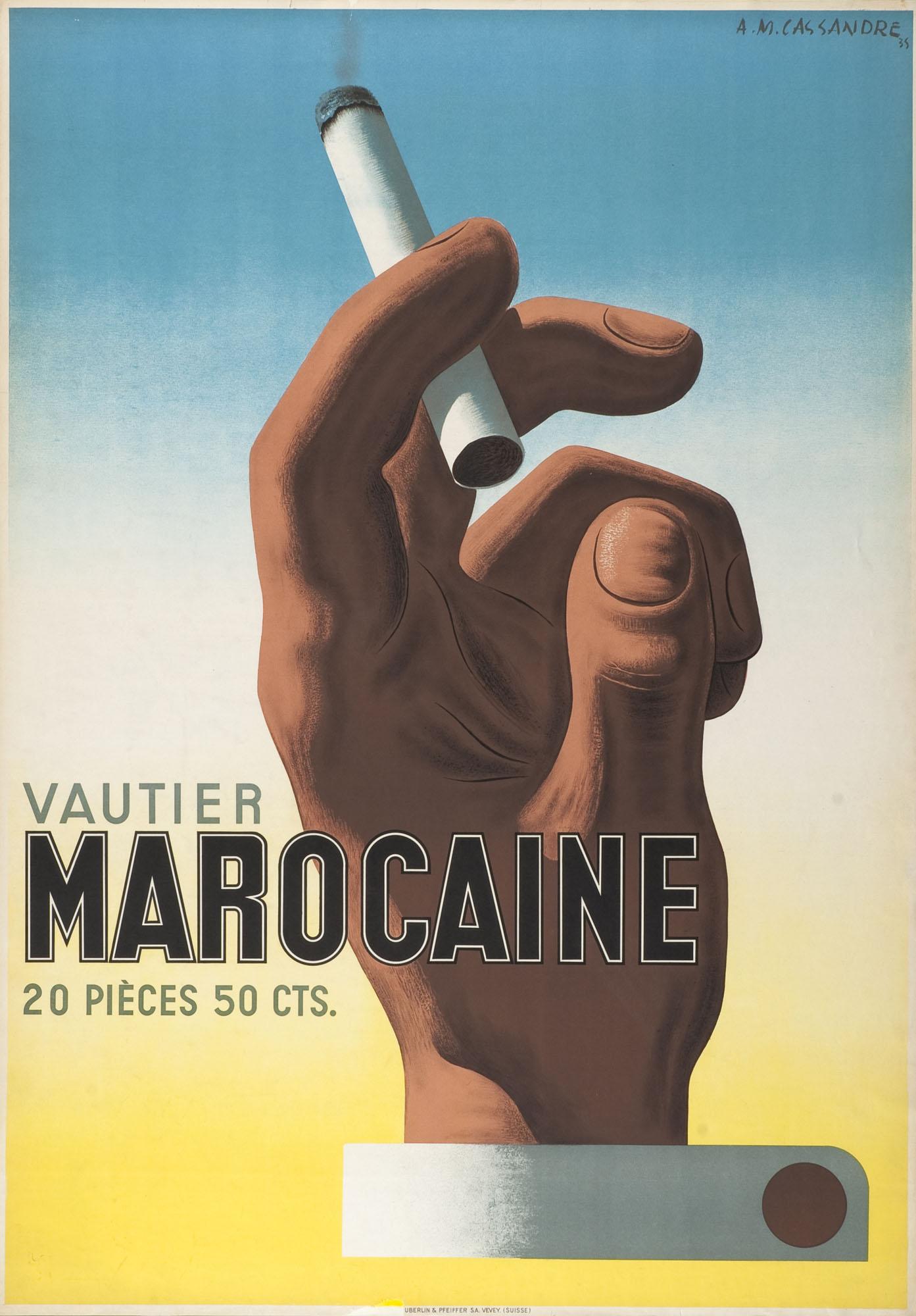Vautier César Adolphe Mouron Cassandre Poster