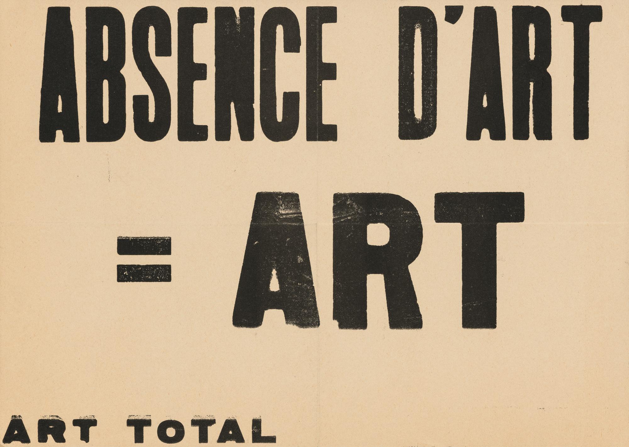 Art = Ben – Art total Ben Vautier