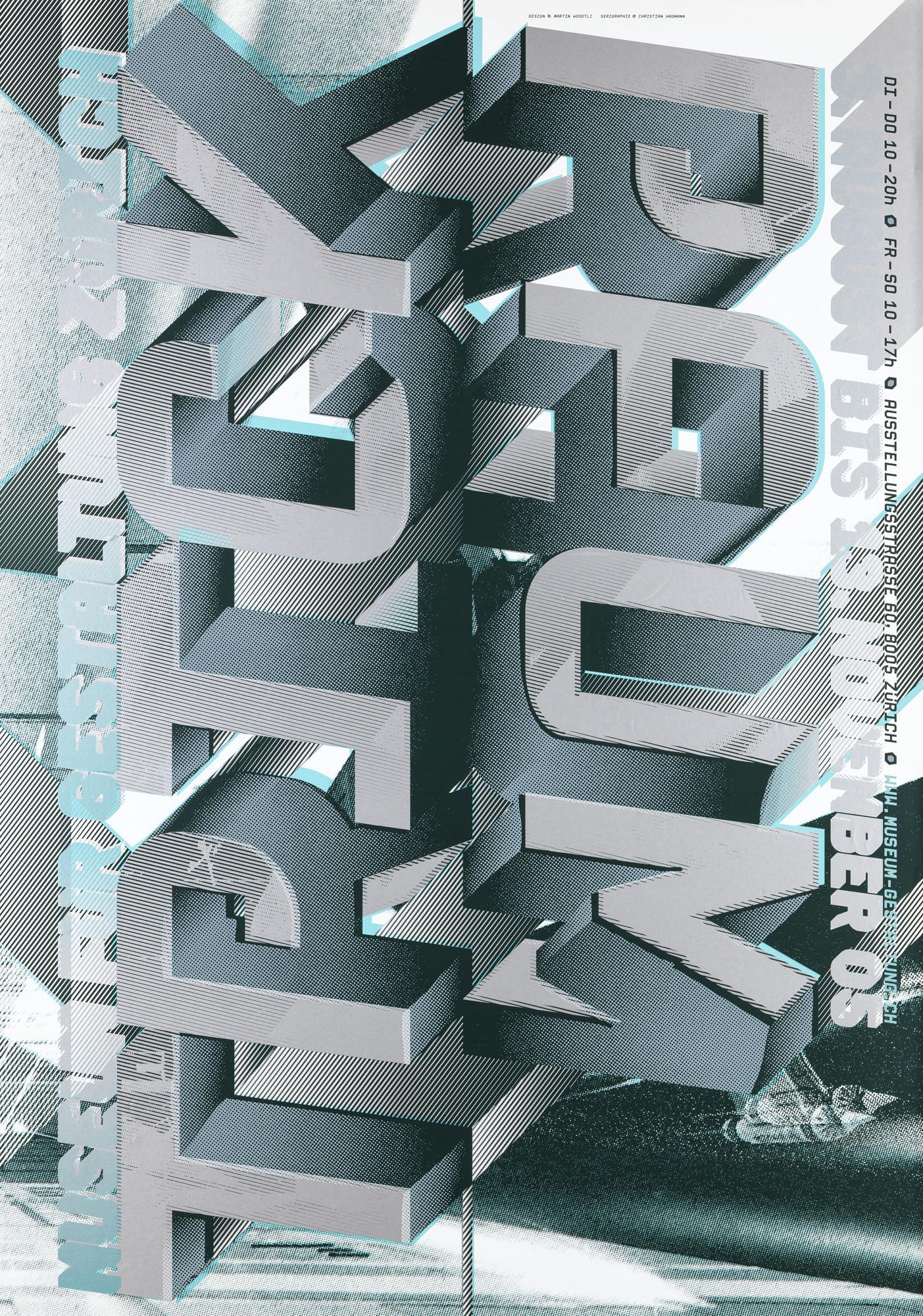 Einfach Komplex – Museum für Gestaltung Zürich Martin Woodtli Poster