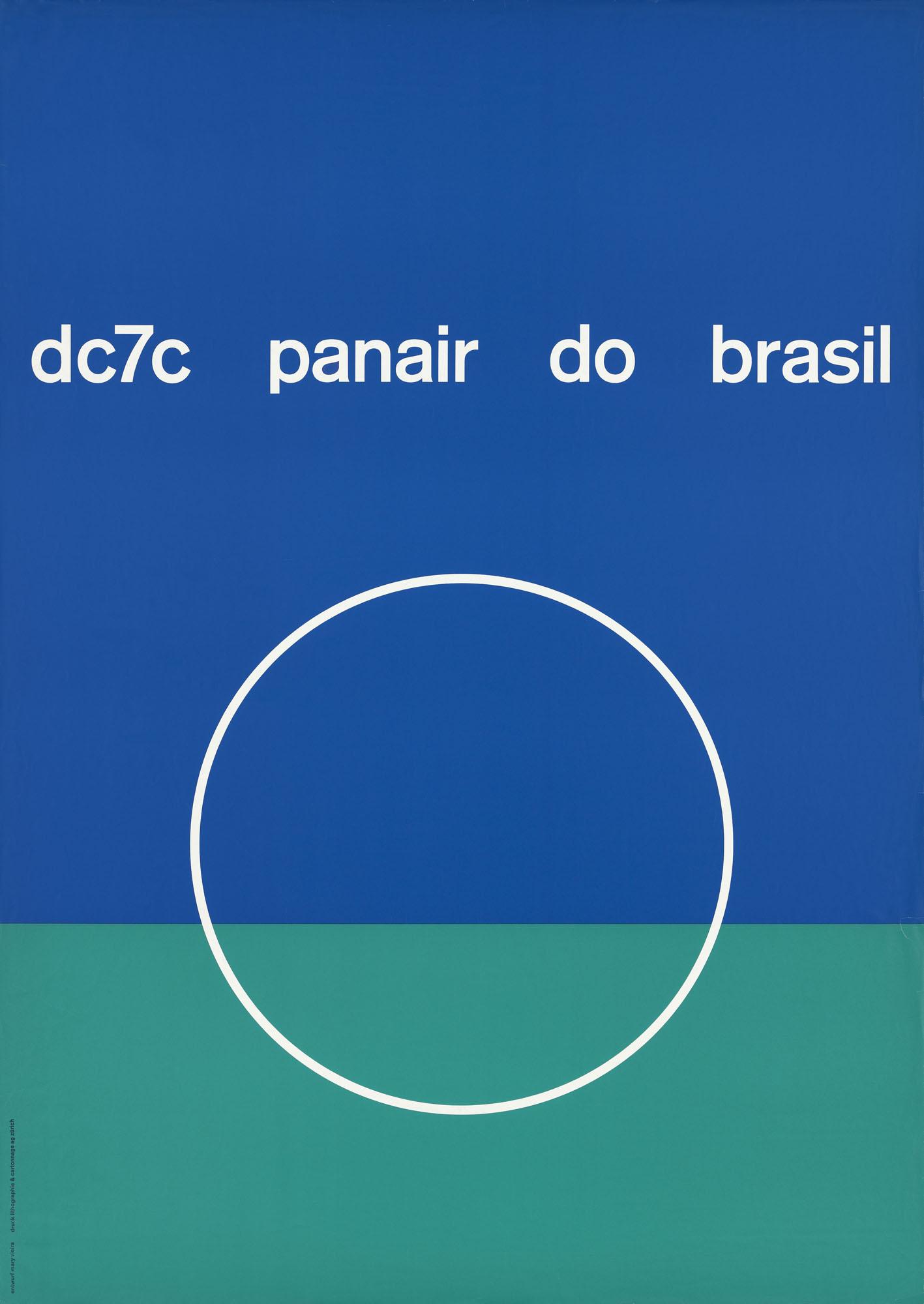 Brasilien baut Mary Vieira Plakat