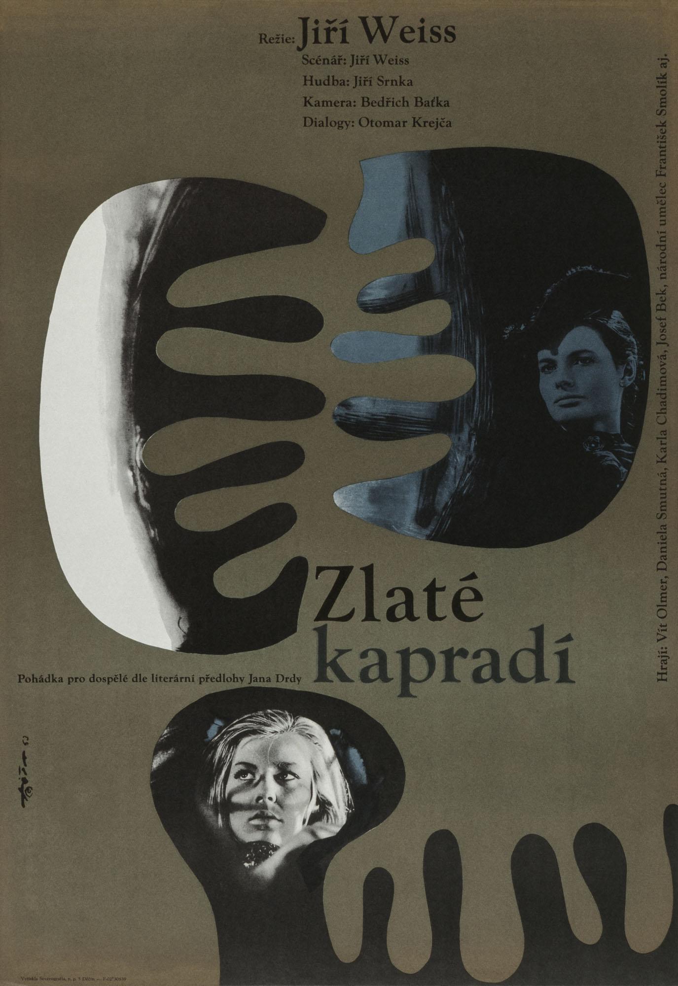 Horalka (La ciociara) Jaroslav Fišer Poster