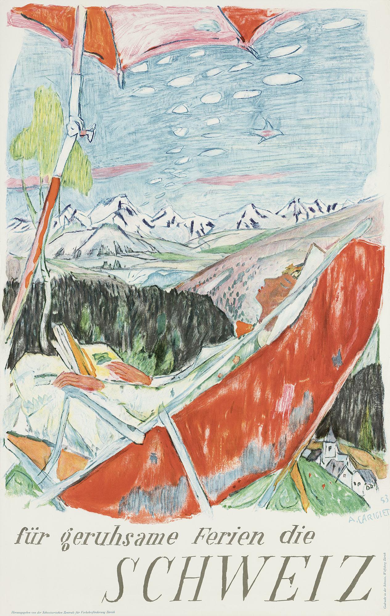 Vacaciones de reposo en Suiza Alois Carigiet