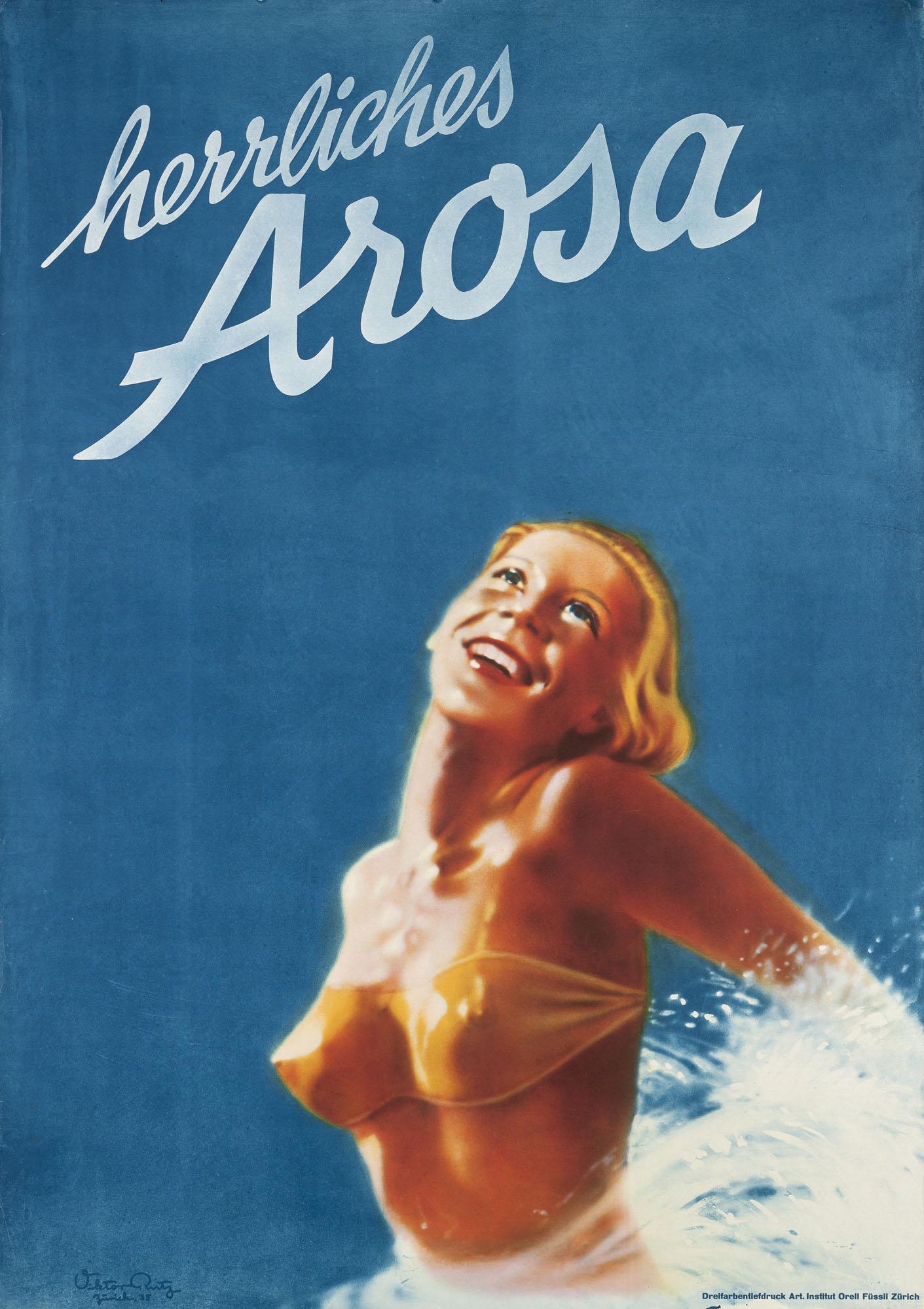 Vevey Viktor Rutz Poster