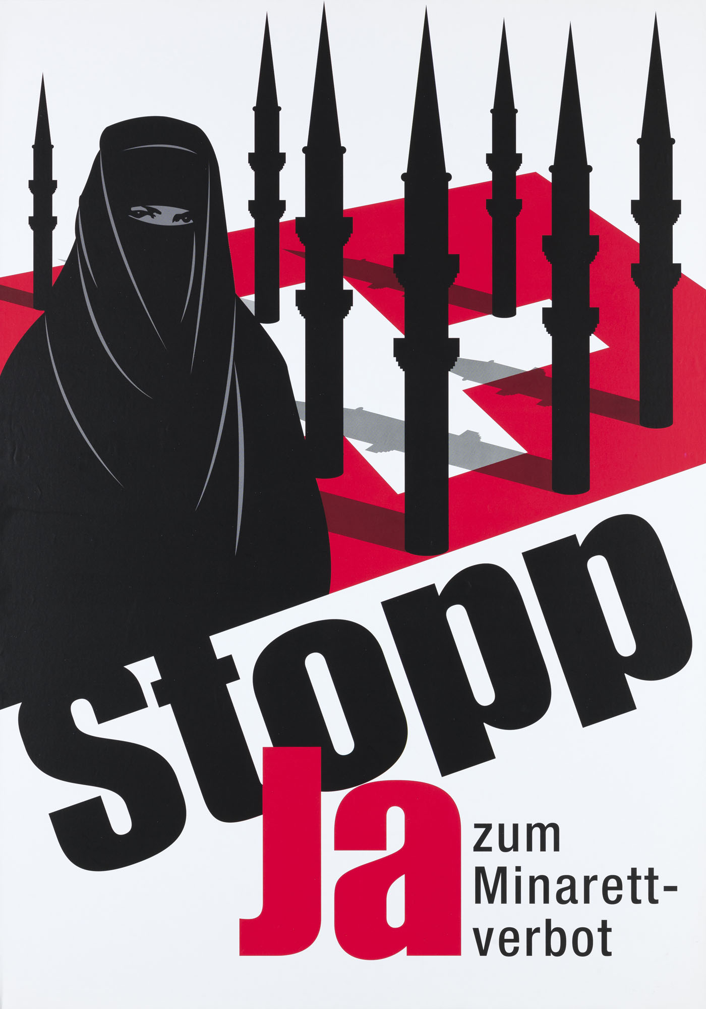 Stopp – Ja zum Verbot von Kriegsmaterial-Exporten Christof Nüssli Severin Egli Poster