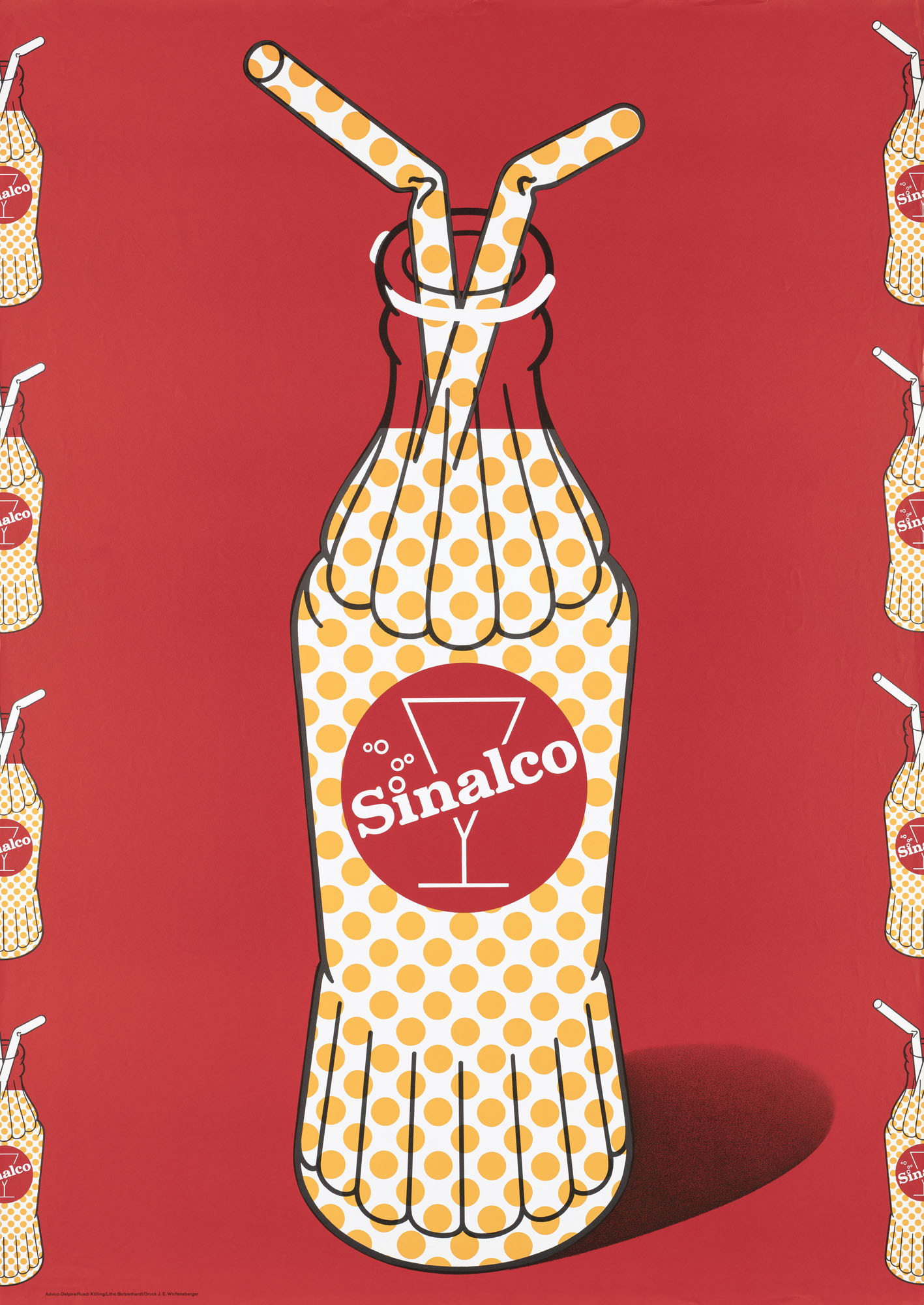 Sinalco Peter Emch Poster