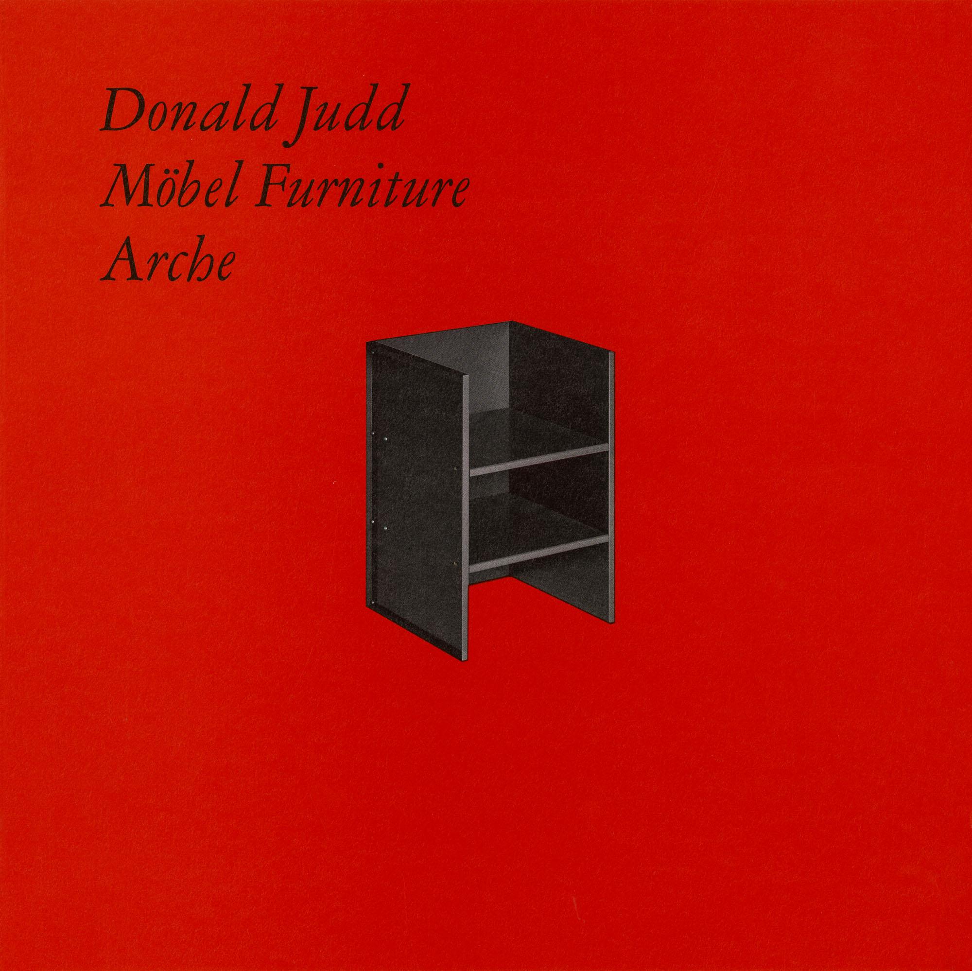 No. 15 Donald Judd Stuhl
